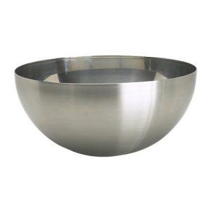 """IKEA Salatschüssel """"Blanda Blank"""" Servierschüssel mit 28 cm Durchmesser aus EDELSTAHL"""
