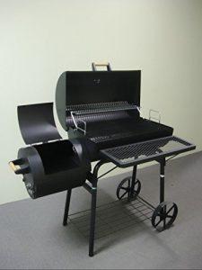 32kg – PROFI XXL Smoker BBQ GRILLWAGEN Holzkohle Grill Grillkamin ca. 1,5 mm Stahl PROFI-QUALITÄT OGA032