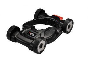 Black + Decker 3-in-1 City Mähaufsatz, 40-60mm Schnitthöhe, für Rasentrimmer STC1820/STC1815/ST5530/ST4525/GL5028, CM100