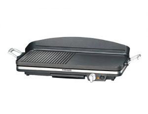 ROMMELSBACHER BBQ 2002 Gourmet – TISCHGRILL – 1900 Watt – schwarz – Zuschaltbare Turbo-Grillzone
