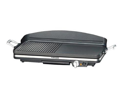 ROMMELSBACHER BBQ 2002 Gourmet - TISCHGRILL - 1900 Watt - schwarz - Zuschaltbare Turbo-Grillzone