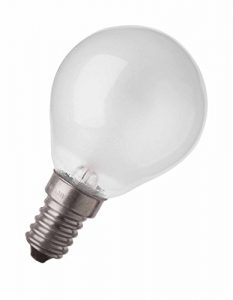OSRAM Backofenlampe  E14 bis 300 Grad Special Oven P-Kolben / Glühbirne für Backofen 40 Watt / Schraubsockel / matt,warmweiß – 2700K