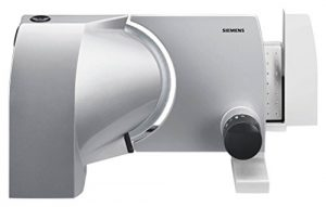 Siemens MS7254M Allesschneider 2-in-1 waveCut Messer aus Edelstahl, bis zu 15mm Schnittbreite, 120 W, metallic / anthrazit