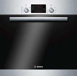 Bosch HBA33B150 Serie 6 Einbaubackofen / A / 66 L / Edelstahl / 3D Heißluft Plus