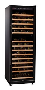 SWISSCAVE 2-Zonen Weinklimaschrank f. 210 Fl. / Inkl. Lieferung auf Stockwerk (D) / Weinkühlschrank mit Winterheizfunktion