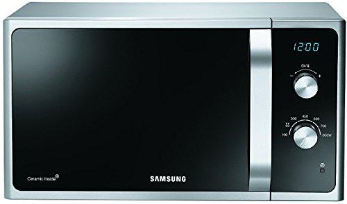 Samsung MS23F301EASEG Mikrowelle / 23 L / 800 W / Premium Select Line elektronische Steuerung / schwarz / silber