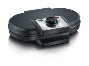 Severin WA 2106 Duo-Waffelautomat, schwarz