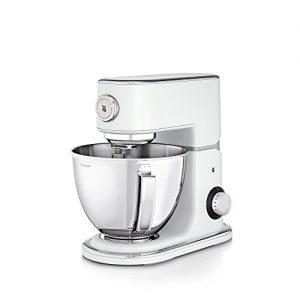 WMF Profi Plus Küchenmaschine, 1000 W, 5 l, Planetarisches Rührwerk, 8 Geschwindigkeitsstufen, metal white