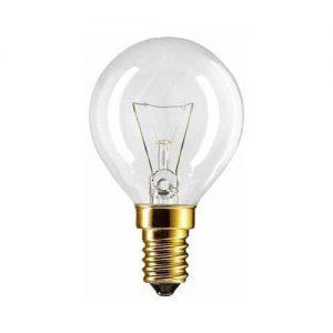 2 X Backofenlampe P45X78 40 Watt E14 klar – Philips