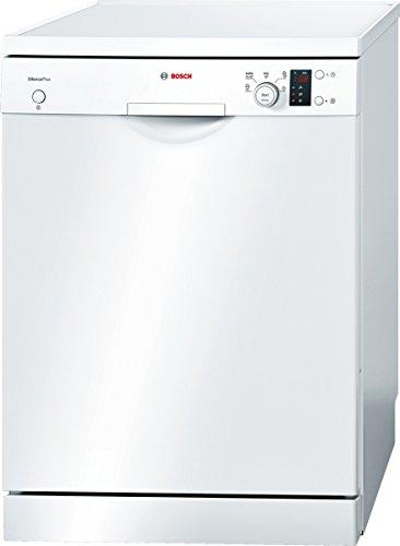 Bosch SMS50D32EU Serie 4 Silence Plus Freistehender Geschirrspüler / A+ / 12 Maßgedecke / 290 kWh/Jahr / Weiß / Super Silence / Active Water
