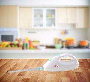 Trendiges Elektrisches Küchenmesser mit 2 Klingen aus Edelstahl / Elektromesser / Brotmesser