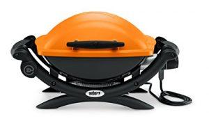Weber 52190053 Grill, Q1400 – Elektro, 66x49x62 cm, orange