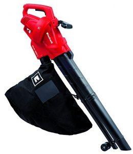 Einhell Elektro Laubsauger Laubbläser GC-EL 2500 E (2500 W, bis 240 km/h, 40 L Fangsack, Drehzahlregulierung, Tragegurt)
