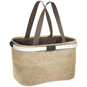 """Dailydream® Einkaufstasche, Einkaufskorb mit komfortablen Henkeln, Größe L, im """"Nature-Look"""""""