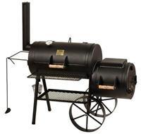 Joe's Barbeque Smoker 16′ Classic, mit Kochplatte