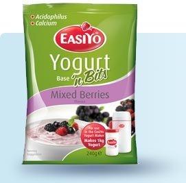 Easiyo Beeren und Bits Joghurt Beutel, 240g
