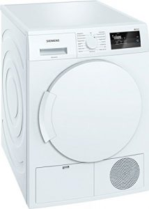 Siemens iQ300 WT43H000 iSensoric Wärmepumpentrockner / A+ / 7 kg / Weiß / Großes Display mit Endezeitvorwahl / easyClean Filter / Super40
