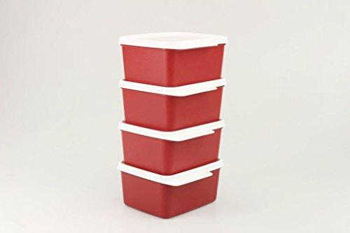 Kühlschrank In Rot : Tupperware kühlschrank ml rot kühle ecke frischemeister