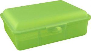 Buchsteiner Klickbox vario-hoch mit Inneneinteilung (limone)