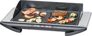 ROMMELSBACHER BBQ 2012/E Gourmet Deluxe – DESIGN TISCHGRILL – 2000 Watt – Edelstahl/schwarz