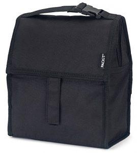 PackIt PKT-PC-BLA Lunch-Kühltasche, schwarz