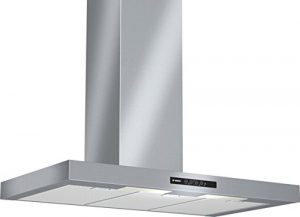 Bosch DWB09W652 Serie 2 Wandhaube / 90 cm / Hohe Lüfterleistung / edelstahl