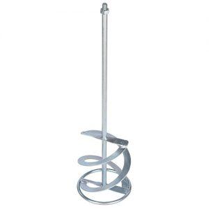 Rührer Rührquirl für Rührwerk stabiler galvanisierter langlebiger Rührquirl Mixer für Rührwerke Durchmesser 160 mm Länge 600 mm Gewinde M14 Galvanisiert / Verzinkt. Mischwirkung von unten nach oben Mischmenge ca. 20 – 40 kg