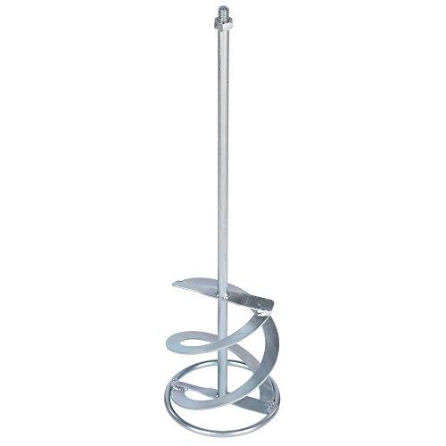 Rührer Rührquirl für Rührwerk stabiler galvanisierter langlebiger Rührquirl Mixer für Rührwerke Durchmesser 160 mm Länge 600 mm Gewinde M14 Galvanisiert / Verzinkt. Mischwirkung von unten nach oben Mischmenge ca. 20 - 40 kg