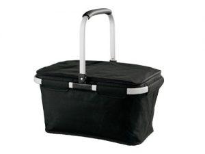 TOPMOVE Einkaufskorb verschiedene Designs 77314 (schwarz)