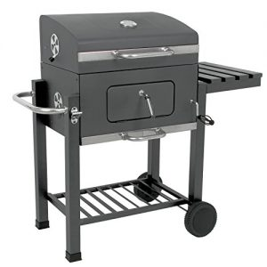 "Luxus Grillwagen ""Butternut"", Holzkohle Barbecue Grill, Smoker"