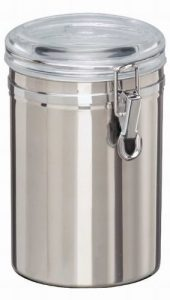 Edelstahl Vorratsdose 1,8 l Vorratsbox Frischhaltedose Dose Box