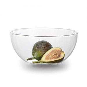 Jenaer Glas 113542 Salatschüsselset 0,5 L Salatschüssel, Glas, klar, 15.1 x 15.1 x 7.0 cm, 2 Einheiten