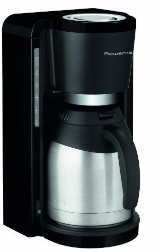 Rowenta CT 3818 Kaffeemaschine Milano, 10 Tassen, Thermokanne mit 4 Stunden Warmhalte-Funktion, Tropf-Stopp, schwarz