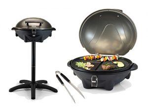 Elektrogrill als Standgrill oder Tischgrill mit starken 2200 Watt gelingt jedes BBQ