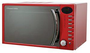 Russell Hobbs RHM1714RC 17 Liter Metallische Rot Digital- Mikrowelle
