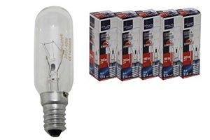 5 Stück Ersatz Birne Dunstabzugshaube 40 Watt E14 klar Lampe