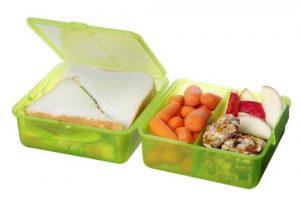 Sistema 1731 Lunch Cube 1,4 L, 3-fach, grün