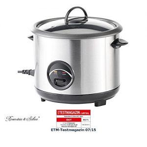 Rosenstein & Söhne Edelstahl-Reiskocher 1,5 Liter