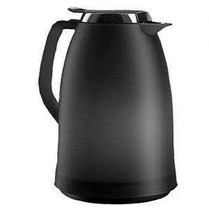Emsa 514978 Isolierkanne, 1.5 Liter, Quick Tip Verschluss, 100% dicht, Anthrazit, Mambo