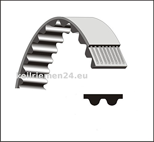 380960 Zahnriemen für ATIKA VT32 Vertikutierer Rasenlüfter ACHTUNG 12 mm Breite