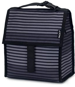 PackIt PKT-PC-STR Lunch-Kühltasche Gray Stripe