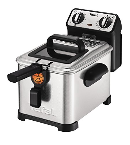 Tefal fr5101 fritteuse filtra pro inox and design, timer ...