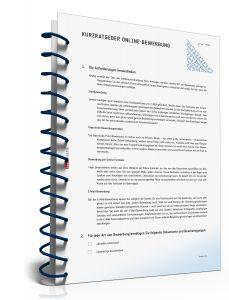 Kurz-Ratgeber Online-Bewerbung [PDF Download]