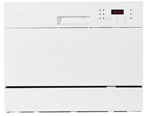 MEDION Tischgeschirrspüler MD 16698 / 6 Reinigungsprogramme / max. 6 Gedecke / LED Anzeige / weiß