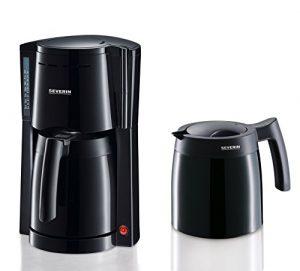 Severin Filtermaschine Kaffeemaschine KA 9234, schwarz