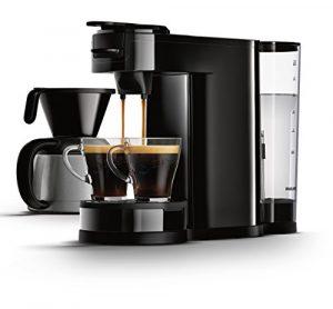 Senseo HD7892/60 Switch 2-in-1 Kaffeemaschine für Filter, Schwarz