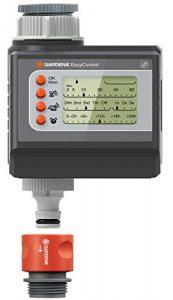 Gardena 1881-20 Bewässerungscomputer EasyControl (programmierbar: Alle 24 Stunden oder jeden 2., 3., oder 7. Tag; bis zu 3 x Täglich) maximaler Druck 0,5 – 12 bar
