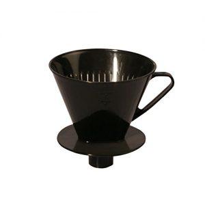 AXENTIA Kaffeefilter mit Stutzen für 4 Tassen, Kaffeebereiter, Kaffeedauerfilter, Stutzenfilter speziell für Isolierkannen – Made in Germany