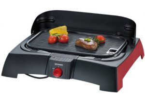 Severin PG 2786 Barbecue-Grill / schwarz-rot