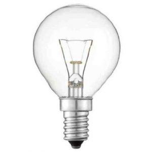 4 x Philips Ofen 40w Lampe SES E14 Klein Verschlusskappe 300° Herd Glühbirne passend für AEG / BOSCH / Siemens / Neff / Hotpoint